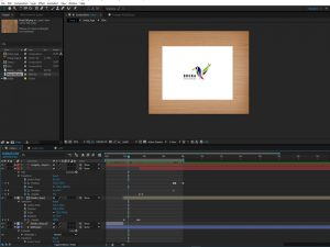 After Effects start animatie