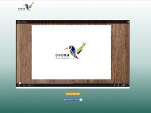 Website met animatie